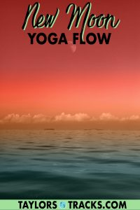 new moon yoga flow to embrace the new  change