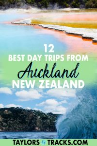 While you probably won't run out of things to do in Auckland, these day trips from Auckland will surely only add to an unforgettable trip. These Auckland day trips and tours take you to some of the most incredible New Zealand destinations on the North Island, from mountains ranges to top wineries, islands and more. Click to see the best day trips from Auckland!