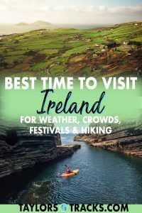 Find out when is the best time to visit Ireland based on your needs as a traveller! With this break down of the best time to visit Ireland based on seasons, avoiding crowds, festivals, hiking and of course weather, you'll be able to pick the best time of year to visit Ireland!