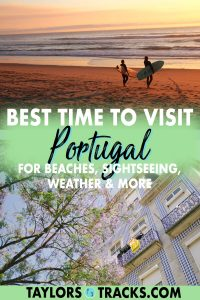 Find out when to visit Portugal and what areas specifically with this comprehensive guide that won't overwhelm you on the best time to travel to Portugal. From the rolling hills of the north in Porto, to stellar cities such as Lisbon, down to the south Algarve region, known for it's beaches, this guide on visiting Portugal by season, month and for each activity will help you plan an incredible trip to Portugal. Click to find out the best time to visit Portugal for you!