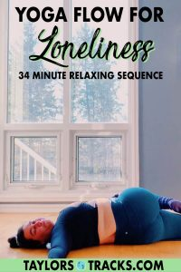 This yoga for emotional release will help you move through feeling lonely. This yoga for loneliness is a gentle yoga flow and practice to help you embrace loneliness. Yoga for emotions is always a great way to help you deal with those heavy emotions, no matter what they are. While this yoga practice is great for loneliness, it can be used whenever you need a relaxing yoga sequence to help you feel supported.