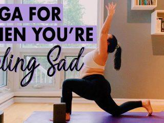 Yoga for sadness