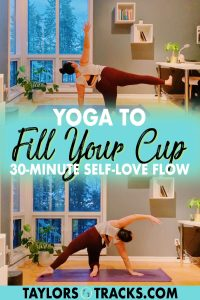 Join me in this 30-minute yoga to feel your best sequence that works into all parts of your body, even the parts that we often forget to stretch and move! This fill your cup yoga is great for morning or evening as a wind down from your day or to start up your day. Click to feel your best and practice yoga!