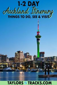 Plan the perfect stay in Auckland with this easy to follow Auckland itinerary for either 1 day in Auckland or 2 days in Auckland. From the top things to do in Auckland, to Auckland day trips that can't be missed, this quick guide covers all the must-see attractions in Auckland. Click to start planning your trip to Auckland!
