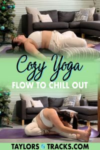 Wake up or wind down with this cozy yoga flow that doesn't require you to sweat or change out of your comfiest clothes but still leaves you feeling amazing. Click to practice yoga and chill out with this comfy yoga flow!