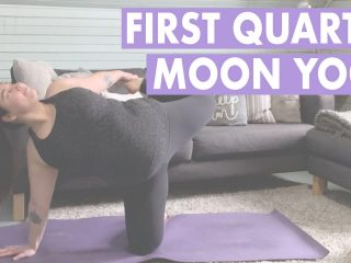 First quarter moon yoga sequence