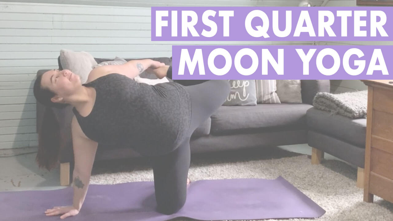 First Quarter Moon Yoga Sequence: Half Moon Yoga