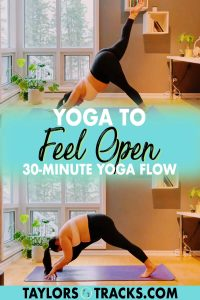 A feel good yoga flow and practice that will help you to open your heart, open your hips, and open your mind with some fun and not often used yoga poses. Click to join me in a yoga to feel open sequence!
