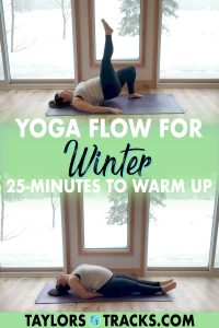 These winter yoga poses will have you warm in no time. Practice in the morning, afternoon or evening with this winter yoga sequence to build energy and heat in less than 30 minutes. Click to practice a winter yoga flow!