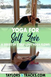 This is a self love yoga series so that you can return to your self love yoga practice day after day for 1 week. Pick from 7 self love yoga sequences and practice yoga as you feel you need to, or commit to the week long practice. Each yoga flow has different self love yoga poses to keep you exploring yourself and your body more on the mat each day. Click start practicing yoga for self love!
