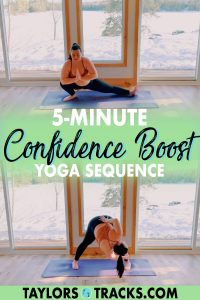 In just a few yoga poses to boost confidence you'll be feeling better, and the best part? You can do so in only 5-minutes! Join me for a quick, do-it-anytime, confidence boost yoga!