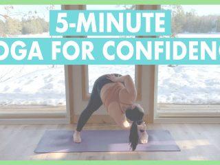 Confidence boost yoga