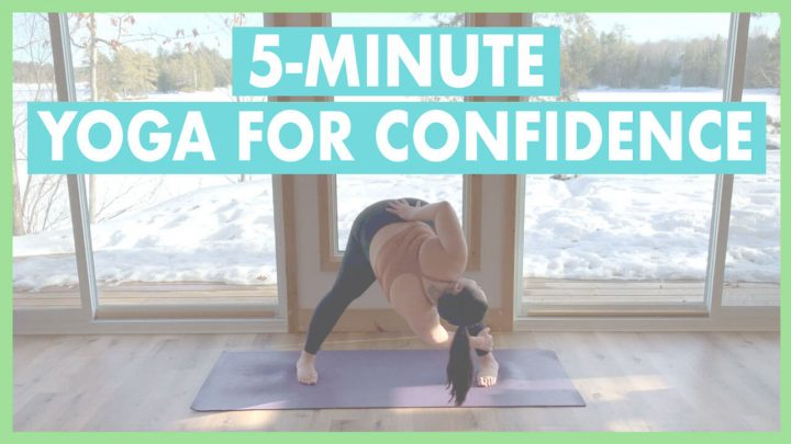 5-Minute Confidence Boost Yoga