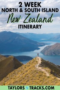 Get ready for a trip of a lifetime with this 2 week New Zealand itinerary that covers both the north and the south islands. From Auckland to Queenstown and the best places to visit in New Zealand in between, this New Zealand travel guide shares with you the top things to do in New Zealand, where to stay in Zealand, and a New Zealand road trip itinerary that you can easily customize with suggestions. Click to start planning your trip to New Zealand!