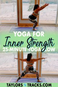 Flow it out with this yoga for inner strength that will help you build confidence, heat and strength both physically and mentally. Click to practice!