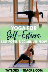 Join me for a 30-minute yoga for self-esteem flow that builds onto poses through repetition to build your self-esteem and confidence. Click for some self-esteem yoga!
