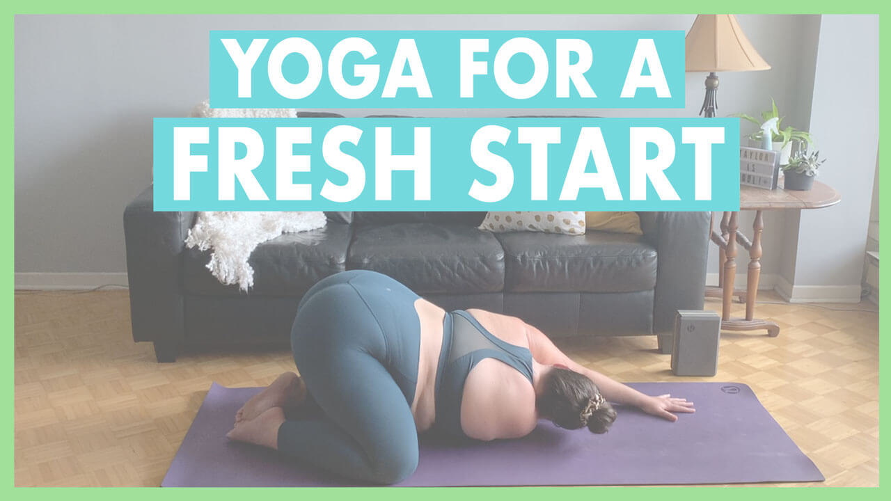 Yoga for a Fresh Start: A 25-Minute Energizing Flow